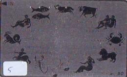 Télécarte JAPON * ZODIAQUE * HOROSCOPE (5) STERRENBEELD * 330-23568  * Japan Phonecard Telefonkarte STERNZEIGEN - Zodiac