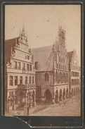Cabinet Card, Rathaus, Prinzipalmarkt, Münster, C.1880 - Places