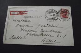275 Letter Locarno-Arona - Bern Suisse    Hotel Eden Pallanza Cover - 6. 1946-.. Republic