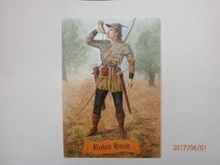 Postcard Robin Hood With KitKat Slogan Cancel My Ref B21317 - Fairy Tales, Popular Stories & Legends