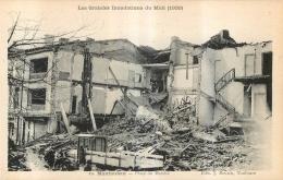 MONTAUBAN LES GRANDES INONDATIONS DU MIDI 1930   PLACE DU MARCHE - Montauban