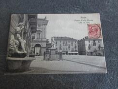 CPA - AOSTA - Piazza Carlo Alberto - Aosta