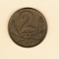 POLAND  2 ZLOTY 1977 (Y # 80.1) - Poland