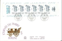 HB-P 214 FRANCE Enveloppe 1er Jour YT N° BC2469A (1987) Journée Du Timbre Départ à 10% De La Cote ! - 1980-1989