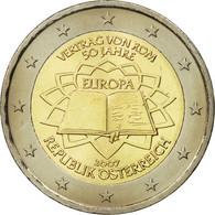 Autriche, 2 Euro, Traité De Rome 50 Ans, 2007, SPL, Bi-Metallic, KM:3150 - Autriche