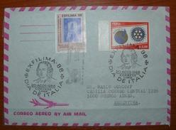 Letter - Cover - Sobre Perú - Peru