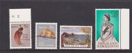 Papua New Guinea SG 42-45 1963 Definitives Mint Never Hinged - Papoea-Nieuw-Guinea
