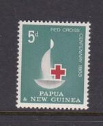 Papua New Guinea SG 46 1963 Red Cross Centenary Mint Never Hinged - Papua New Guinea
