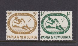 Papua New Guinea SG 49-50 1963 First South Pacific Games Mint Never Hinged Set - Papua New Guinea