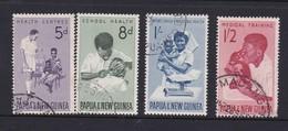 Papua New Guinea SG 57-60 Health Service Used - Papua New Guinea
