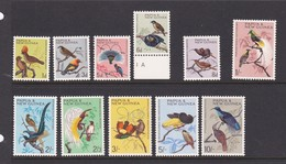 Papua New Guinea SG 61-71 1964-65 Birds Mint Never Hinged - Papoea-Nieuw-Guinea
