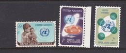 Papua New Guinea SG 79-81 1965 20th Anniversary UN  Mint Never Hinged Set - Papua New Guinea