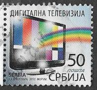 Serbia 2012 Digital Television 50d Good/fine Used [34/29020/ND] - Serbia