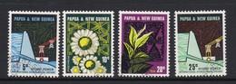 Papua New Guinea SG 113-116 1967 Industries Used - Papoea-Nieuw-Guinea