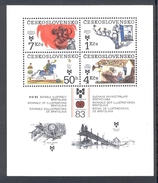 CZECHOSLOVAKIA 1983 Illustrations For Children And Youth, Scott No(s).2471a MNH Souvenir Sheet - Unused Stamps