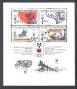 CZECHOSLOVAKIA 1983 Illustrations For Children And Youth, Scott No(s).2471a MNH Souvenir Sheet - Czechoslovakia