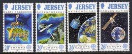 GB JERSEY - 1991 EUROPA SPACE SET (4V) SG 545-548 FINE MNH ** - Europa-CEPT