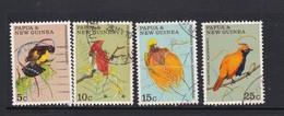 Papua New Guinea SG 173-176 1970 Birds Of Paradise Used Set - Papua-Neuguinea