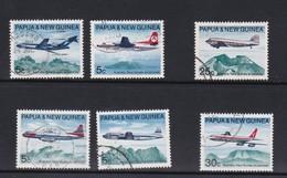 Papua New Guinea SG 177-182 1970 Air Services Used Set - Papua New Guinea