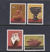 Papua New Guinea SG 187-190 1970 Native Artifacts Mint Never Hinged Set - Papoea-Nieuw-Guinea
