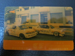 GPT Magnetic Phonecard,2MACC Macau Grand Prix From A Set Of 5,used(color Turned Yellow) - Macau