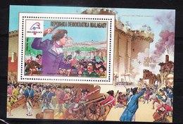 MADAGASCAR - 1989 - Feuillet 924 - DESMOULINS - Bicentenaire De La Révolution Française Et Philexfrance 89 - Madagascar (1960-...)