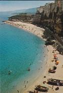 ITALIE---RARE---TROPEA---la Plage--voir 2 Scans - Vibo Valentia