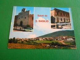 Cartolina Saluti Da S. Basilio - Vedute Diverse 1969 - Cagliari