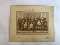 17AD/2 - Photo Scolaire Ecole D'Heuvy 1925 Photo L. Christophe Jambes - Photos