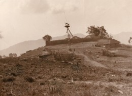 Inde Assam Collines Naga Hills Fort Mungsambi? Ancienne Photo 1930 - Places