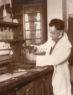 New York Fordham University Chimiste George Bacharach Ancienne Photo 1928 - Professions