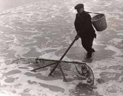 Margate Peche A Le Crevette Mr Cook Homme A Tout Faire Ramoneur Musicien Ancienne Photo 1930's - Professions