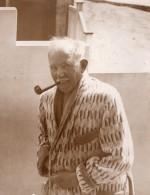 West Hove Politicien Britannique J. H. Thomas En Vacances A La Mer Ancienne Photo 1930 - Famous People