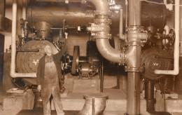 New York Interieur Centrale électrique Souterraine Ancienne Photo 1930 - Professions