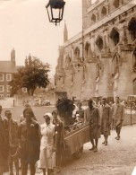 Cathedrale De Winchester Etudiants Foire Agricole Produits Fermiers Ancienne Photo 1934 - Professions