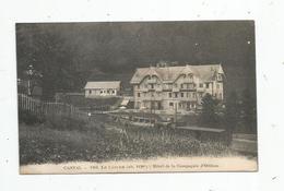 Cp , Chemin De Fer , Train , Cantal , 15 ,LE LIORAN , Hotel De La Compagnie D'ORLEANS , Vierge - Trains