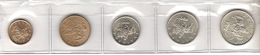 Lot Of 5 World Coins - Munten & Bankbiljetten