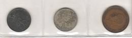 Lot Of 3 World Coins - Munten & Bankbiljetten