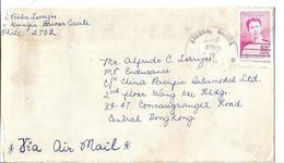 Philippines 1975 Gregorio Del Pilar Commemorative 90 S, Sea And Sun Airmail To Pakistan - Filipinas