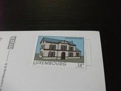 STORIA POSTALE FRANCOBOLLO COMMEMORATIVO  LUSSERBURGO LUXEMBOURG  VEDUTE - Cartoline
