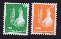 1233A Et 1233B - Cagou Type Ramon 10F Et 30F Avec Millésime 2014 - Cote 20 Euros - New Caledonia