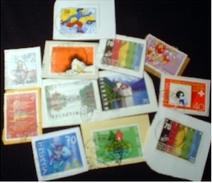 Switzerland KILOWARE StampBag 60g (2.1oz) Mainly Older Stamp Mixture  [Vrac Massenware Mezclas Rinfusa Kilowaar] - Suisse