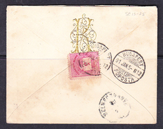 SC13-75 COVER FROM BUDAPEST 05.01.1891. - Covers & Documents