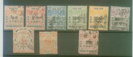 Lot Alte China Lokal Post (*) / O - Francobolli