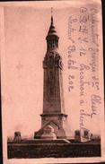 CPA  MONUMENT Correspondance Militaire G.R.H.J.12 ESCADRON à CHEVAL Secteur Postal 202 - War 1939-45