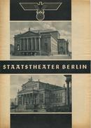 Staatstheater Berlin - Spielzeit 1935/36 - 3 Doppelseiten DINA4-Formatmit Vielen Abbildungen - Anni Konetzni Karl Hamme - Theater & Scripts