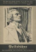 Volksbühne Berlin - Generalintendant Eugen Klöpfer - Spielzeit 1936/37 - Faltblatt DINA4-Format Mit Vielen Abbildungen - Theatre & Scripts