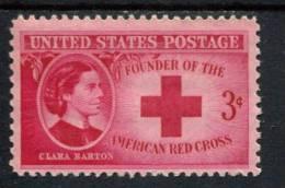 205580005 USA POSTFRIS MINT NEVER HINGED POSTFRISCH EINWANDFREI SCOTT  967 Clara Barton Red Cross - United States
