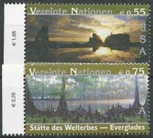 UNO WIEN 2003 Mi-Nr. 397/98 ** MNH - Wien - Internationales Zentrum