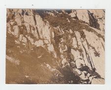 PHOTO ORIGINALE 7X9 / UNE HALTE AU GRAMMONT En 1908 (dans Le VALAIS) - Lieux